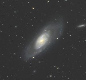 სეიფერთის გალაქტიკა NGC 4258-ის ოპტიკური გამონასახი.