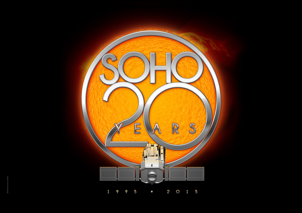 SOHO – 20 years in space